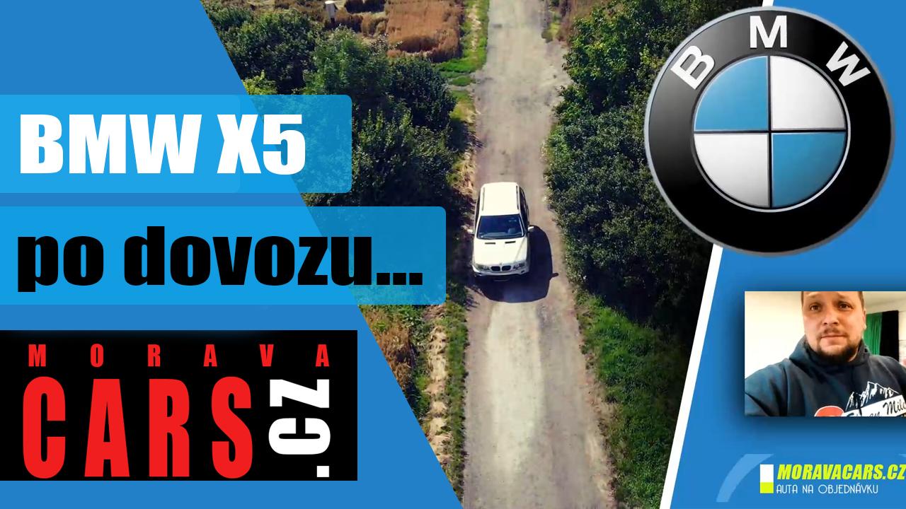 Jak vypadá BMW X5 ihned po dovozu z Německa?