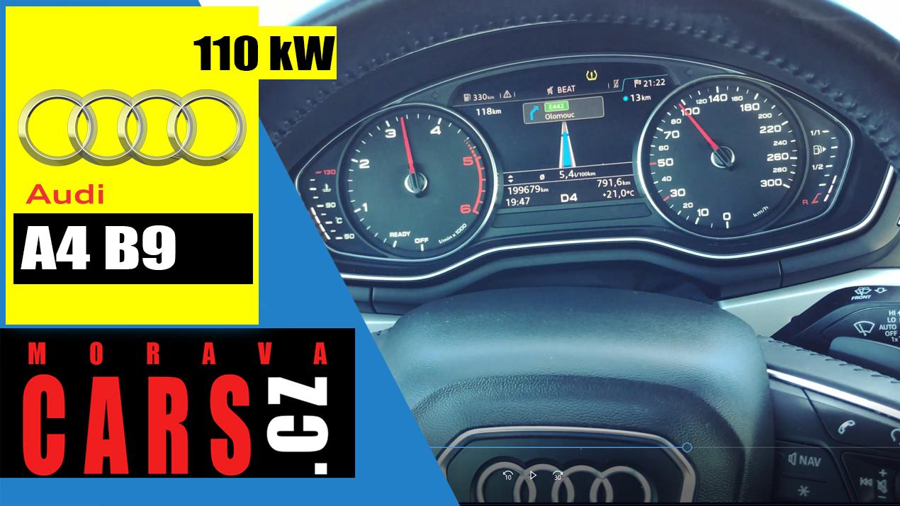VLOG z dovozu Audi A4 Avant 2.0 TDi 110kW